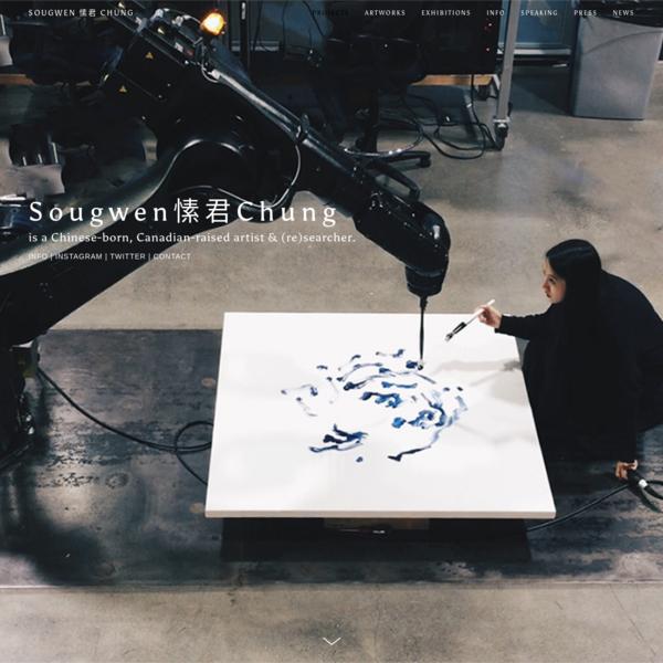 Sougwen Chung (愫君) - works by sougwen
