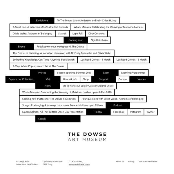 The Dowse Art Museum | The Dowse Art Museum