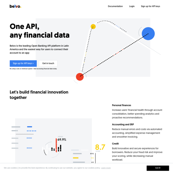 Belvo - Financial API for fintech innovators