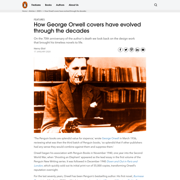How Orwell covers have evolved through the decades