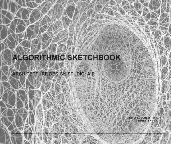 Algorithmic sketchbook