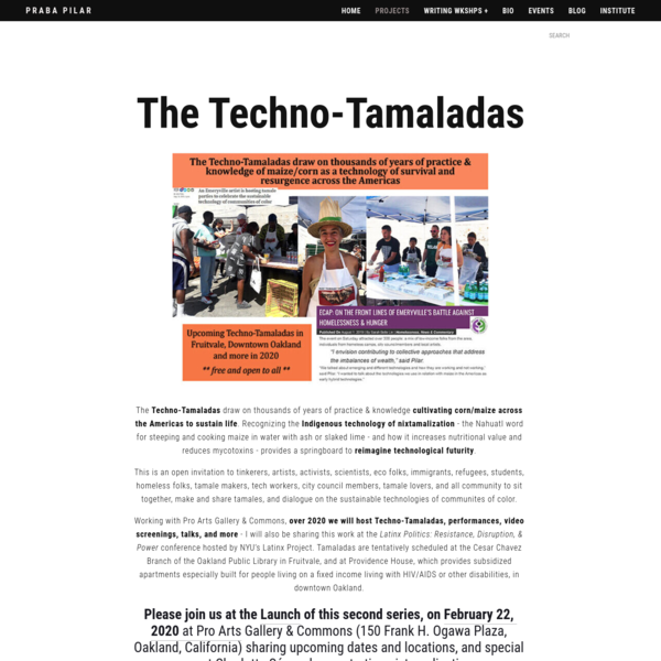The Techno-Tamaladas - Praba Pilar