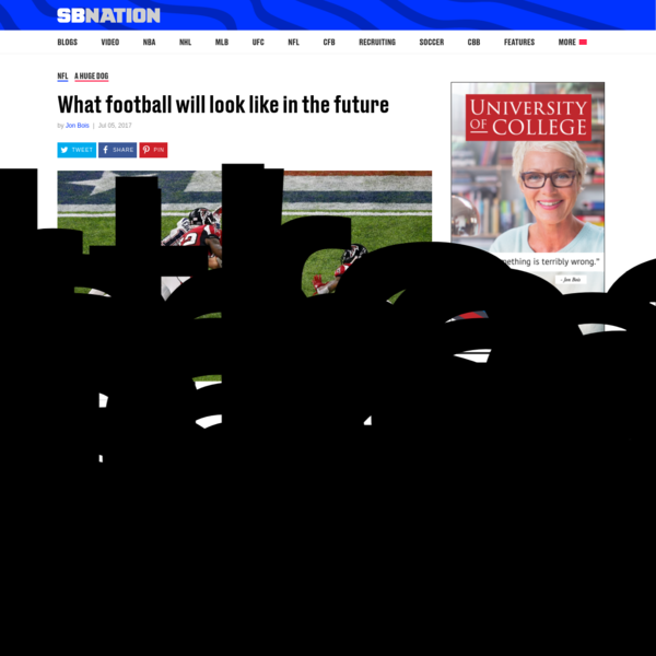 What football will look like in the future