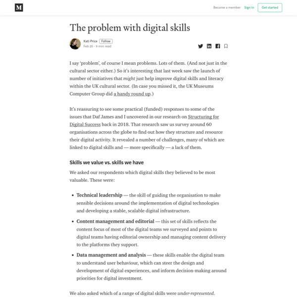 The problem with digital skills