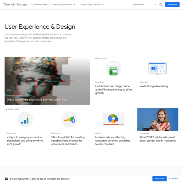 User Experience & UX Design Resources - Think with Google