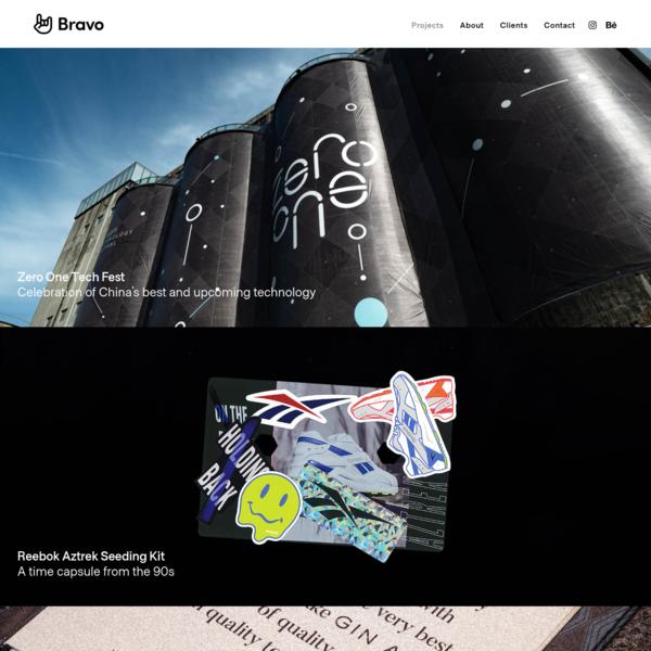 Projects | Bravo - Branding | Design | Marketing