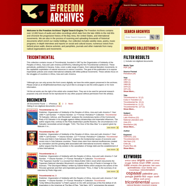 Freedom Archives Search Engine