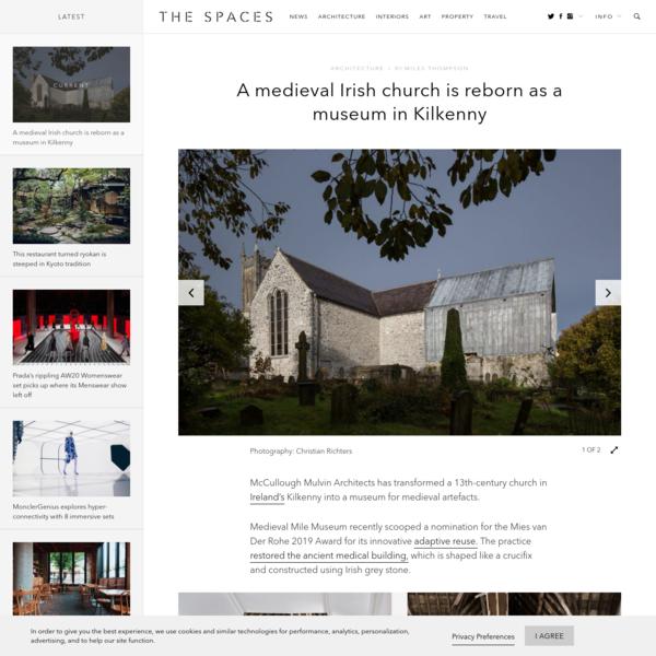 Medieval Irish church is reborn as a museum in Kilkenny