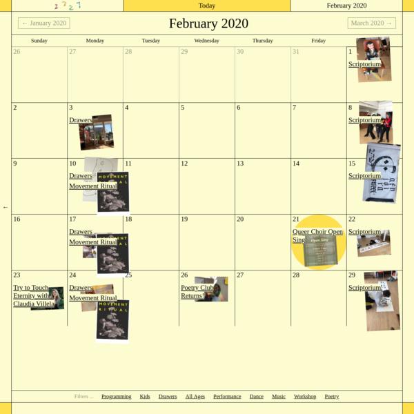 2727.today | Calendar
