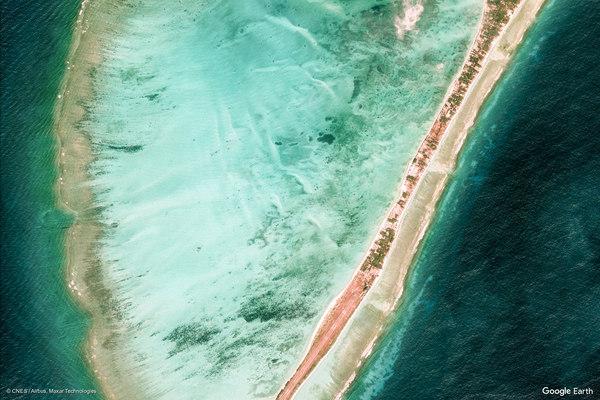 Agatti, India (Google Earth View 12799)
