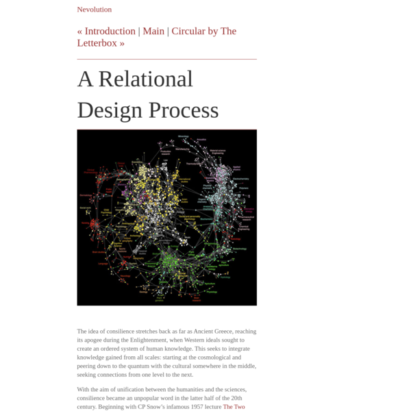 A Relational Design Process