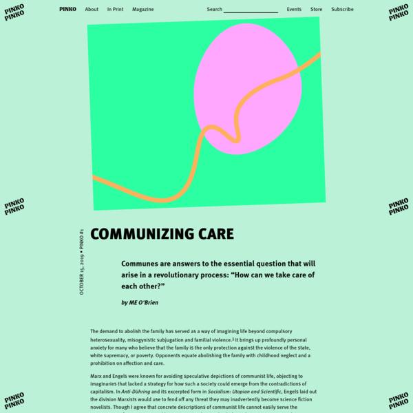 Communizing Care