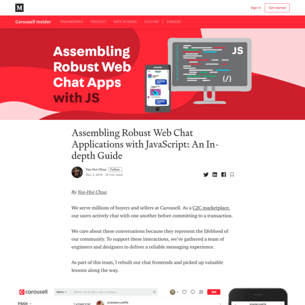 Assembling Robust Web Chat Applications with JavaScript: An In-depth Guide