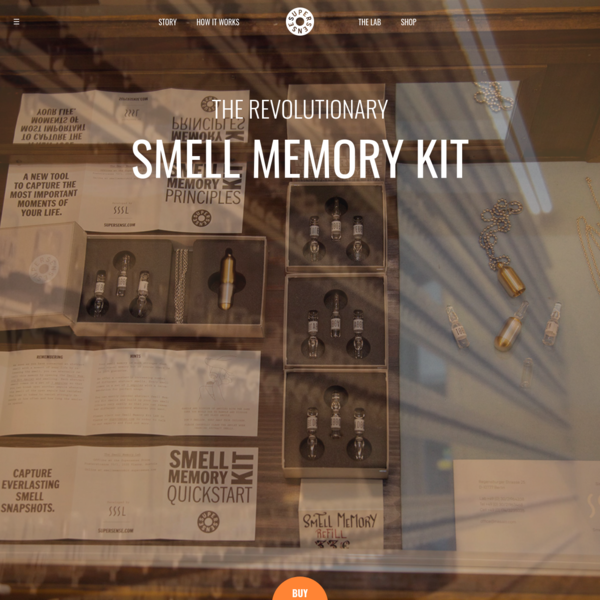 The revolutionary SMELL MEMORY KIT