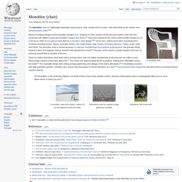 Monobloc (chair)