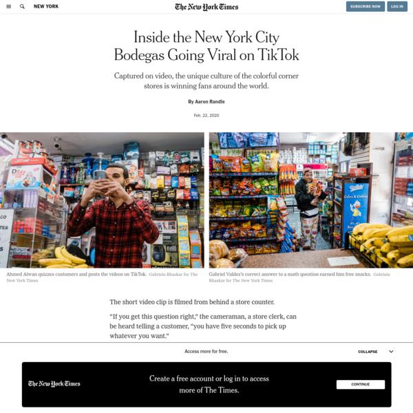 Inside the New York City Bodegas Going Viral on TikTok