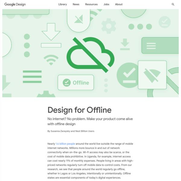 Design for Offline - Library - Google Design
