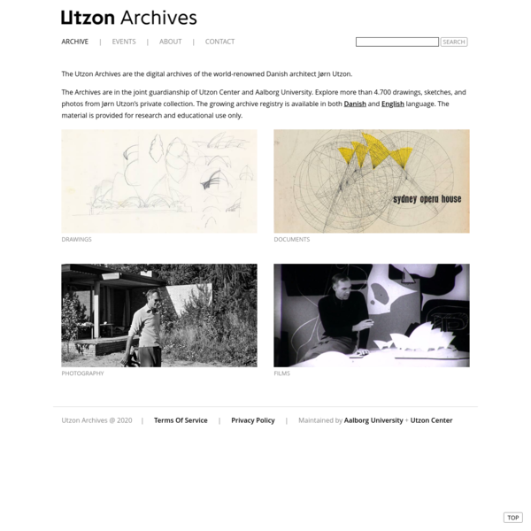 The Utzon Archives