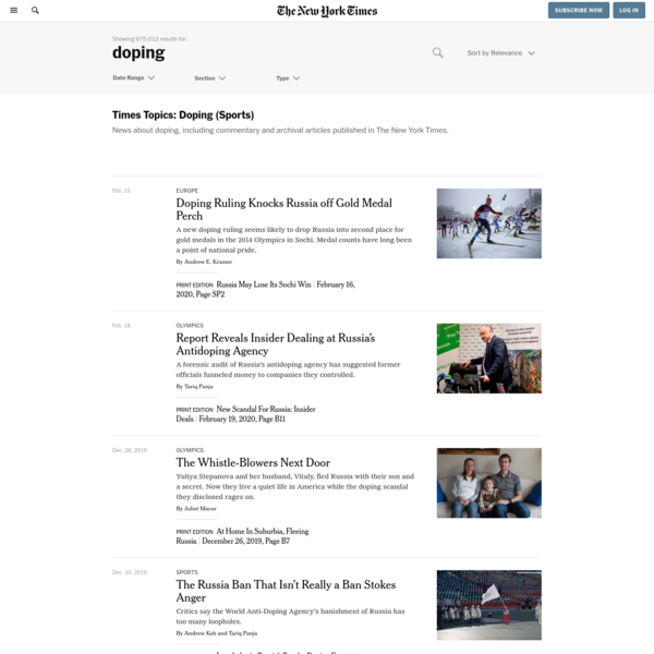 The New York Times - Search