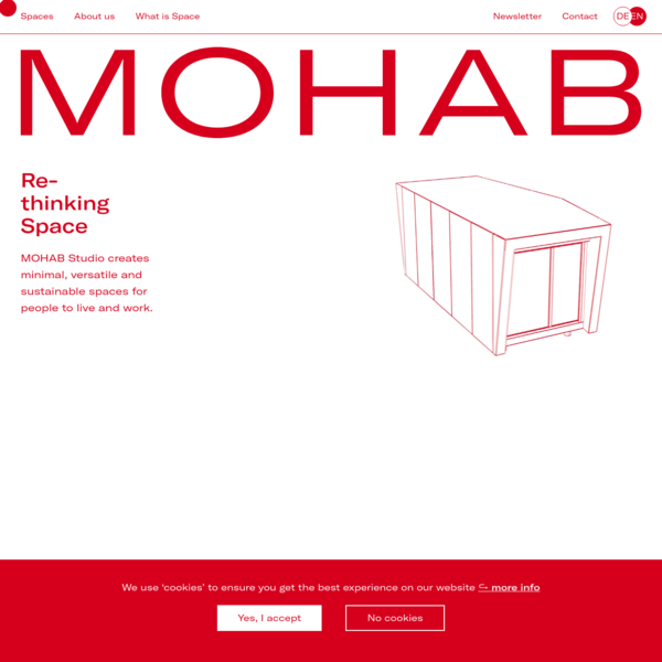 Homepage - MOHAB - Rethinking Space