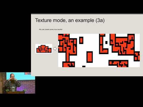 Brian Bucklew - Dungeon Generation via Wave Function Collapse