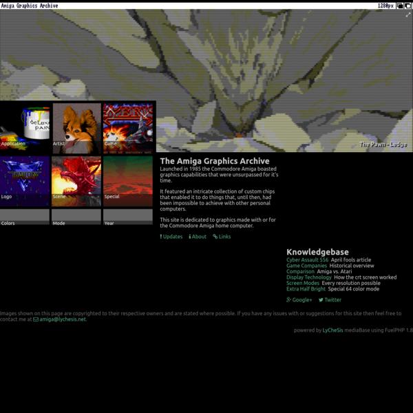 Amiga Graphics Archive