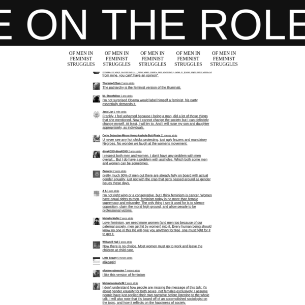ON THE ROLE