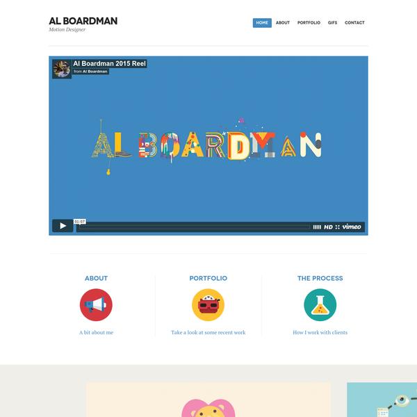 Al Boardman Motion Designer