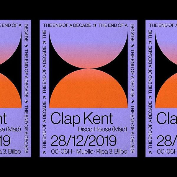 1325 . Repost @rebekaarce . ⌛️⌛️THE END OF A DECADE ⌛️⌛️Poster design for @clapkent's show at @muelle_bilbao #visualjournal ...