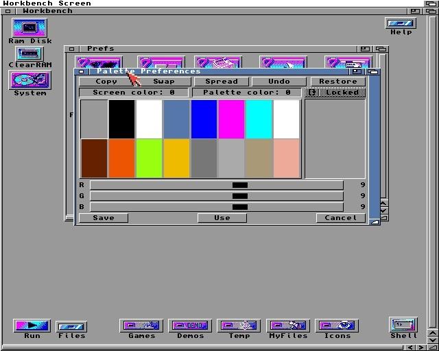 Are na / Amiga Workbench