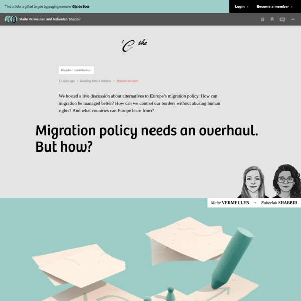 Migration policy needs an overhaul. But how?