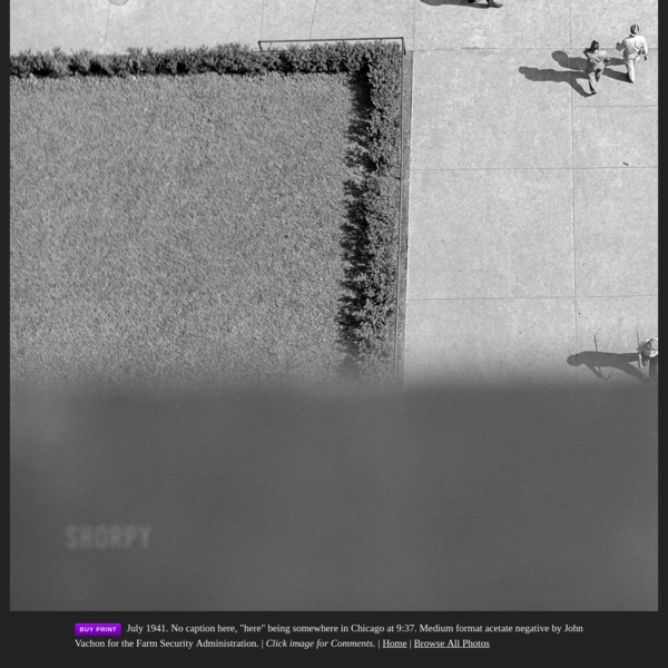 Shorpy Historical Picture Archive :: Look Downward Angle: 1941 high-resolution photo