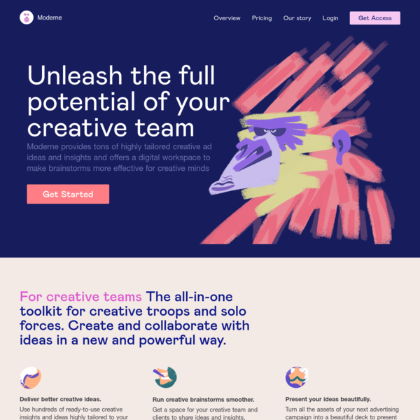 Moderne: Unleash the full potential of your creative team