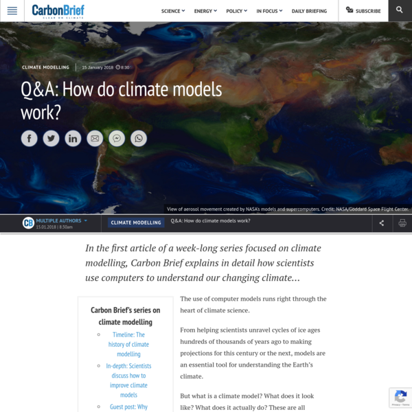 Q&A: How do climate models work? | Carbon Brief