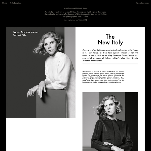 """The face of Italian cinema's new wave, actor Alba Rohrwacher, is continually drawn back to her native Rome, where, she says, there's no fixed style. """"I prefer not to recognise where someone's from; I like the beautiful ambiguity."""" On this page, Alba wears a black cashmere-felt double-breasted jacket and grey wool melange pleat-fronted trousers."""