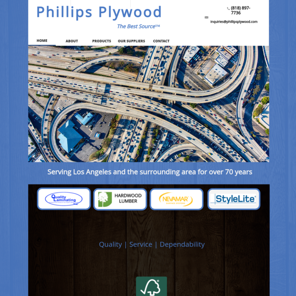 Phillips Plywood | Southern CA | 818-897-7736