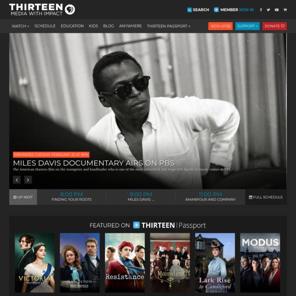 THIRTEEN - New York Public Media