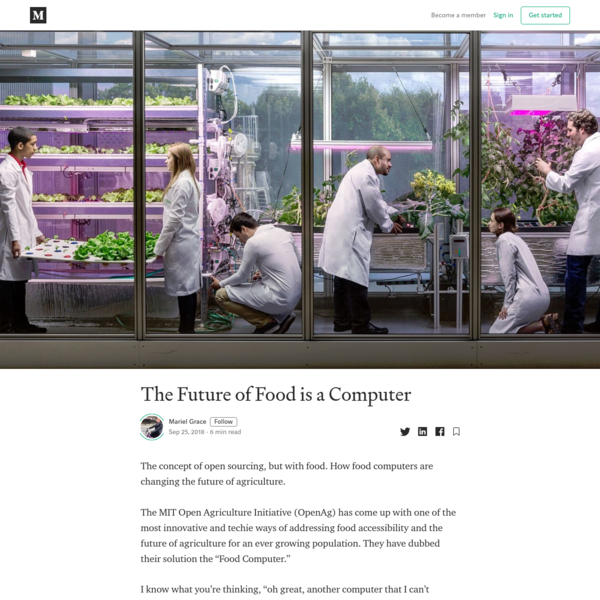 The Future of Food is a Computer