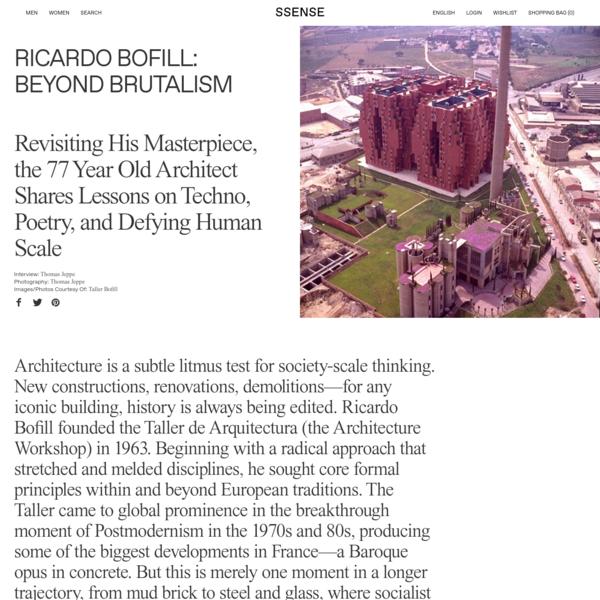 Ricardo Bofill: Beyond Brutalism