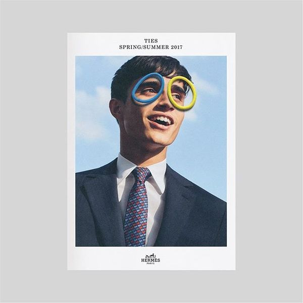 Hermès Mens Ties SS17 - Campaign (2017)⠀ Creative Direction: David Lane ⠀ Fashion photography @dianelreare⠀ Still lIfe photo...