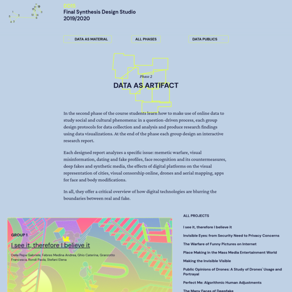 DensityDesign F.S.D.S 2019/2020