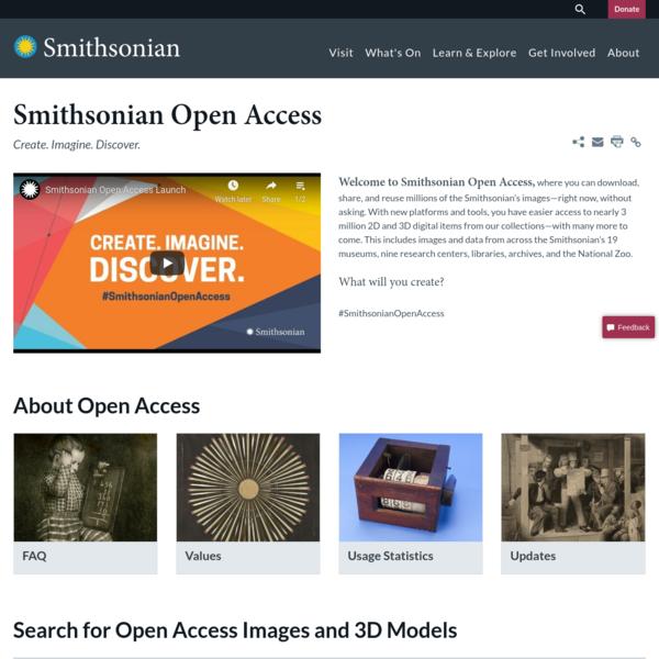 Smithsonian Open Access