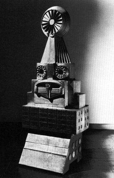 Eduardo Paolozzi, Hermaphroditic Idol Number 1, 1962