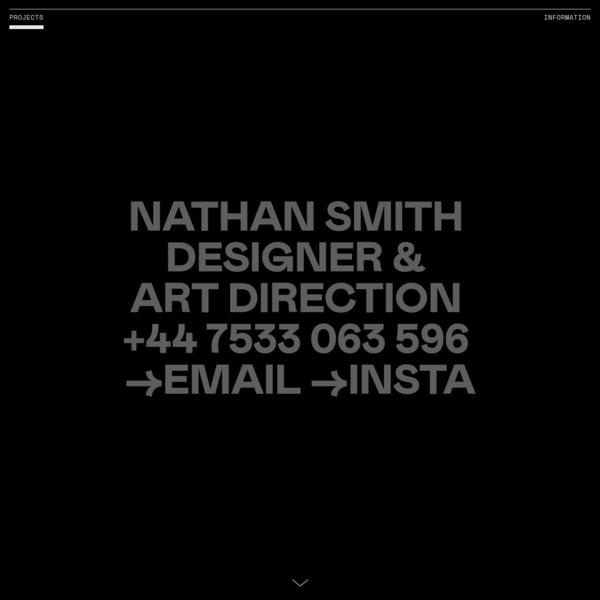 Nathan Smith - Design & Art Direction