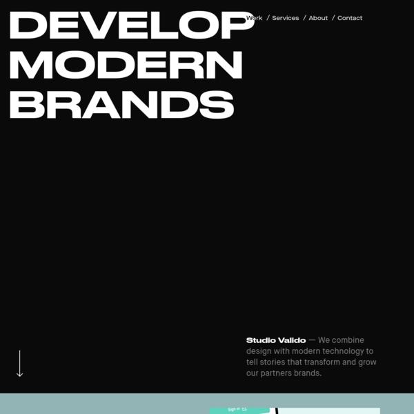 Studio Valido - Digital Product Design Studio