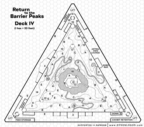 Return to the Barrier Peaks – Deck IV