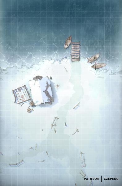 Lake of Ice [21x32]