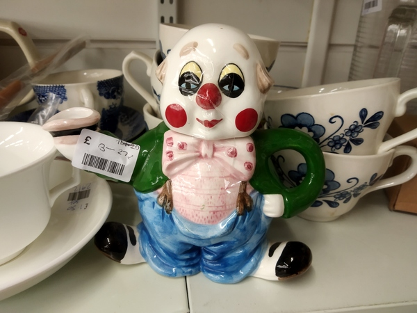Ceramic clown