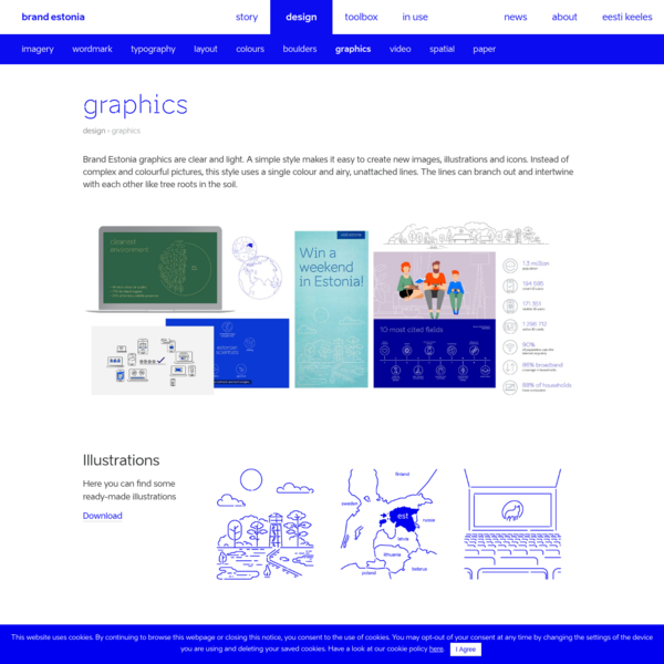 Graphics - Brand Estonia