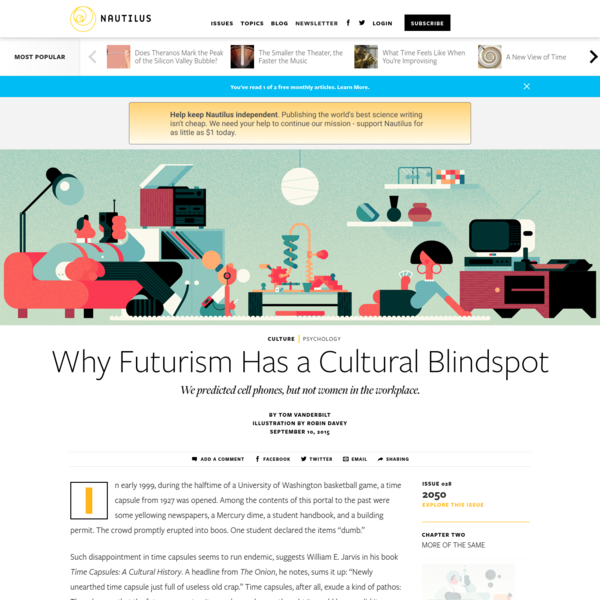 Why Futurism Has a Cultural Blindspot - Issue 28: 2050 - Nautilus